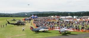 Airshow in Breitscheid